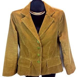 Vince Corduroy Blazer Jacket Size 6